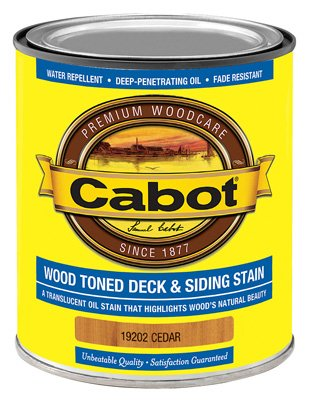 Cabot Deck And Siding Stain Cedar 1 Qt