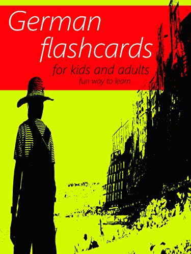 German Flash Cards Book - Learning Language for Kids and Adults - Best way  to learn German Online for Beginners