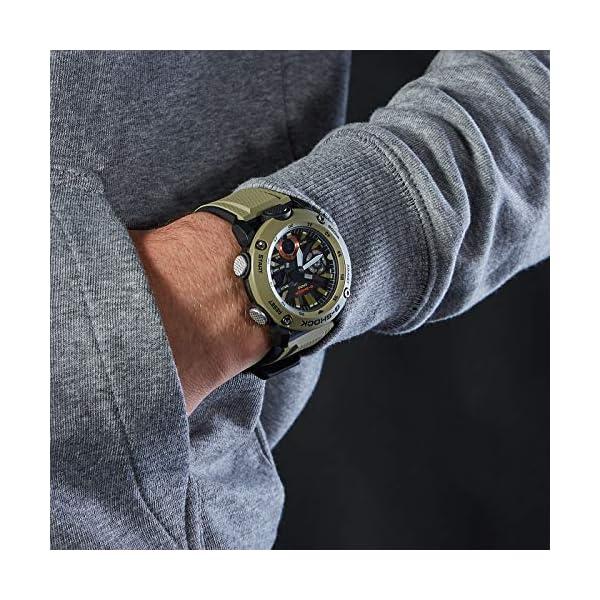 Casio Reloj Analógico-Digital para Hombre de Cuarzo con Correa en Resina GA-2000-3AER 7