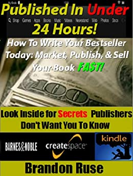 24 Hours & Published: How To Write a Fiction or Nonfiction