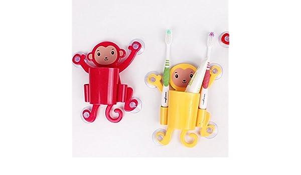 Disfraces de lavar de dibujo animado mono – Cepillo de dientes ...