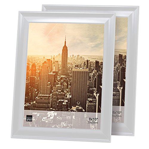 8x10 tabletop frame white - 4