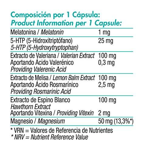 NeoDream. Con 5-HTP, Valeriana, Melisa, Espino Blanco ...