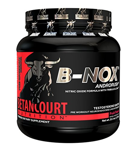 Betancourt Nutrition - B-NOX Androrush, Promotes A Better Pre-Workout By Supporting The Natural Testosterone Response To Exercise, Fruit Punch, 22.3...