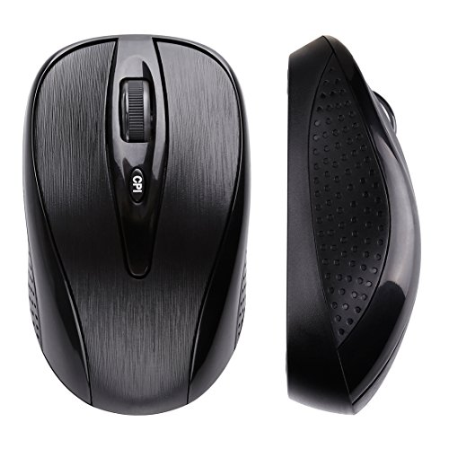 da695b19afda 2.4G Wireless Portable Mobile Mouse Optical Mice with USB Receiver ...
