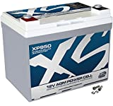 XS Power XP950 XP Series 12V 950 Amp AGM Supplemental Battery with M6 Terminal Bolt