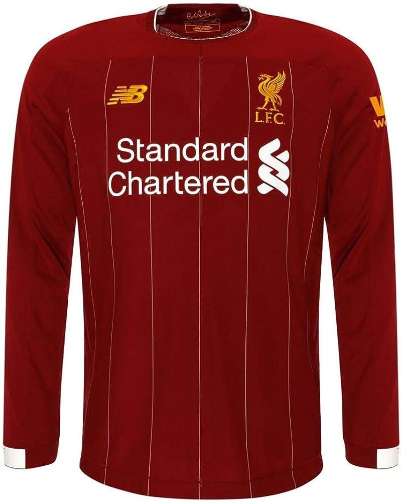 New Balance Kid's Liverpool FC Long Sleeve Jersey