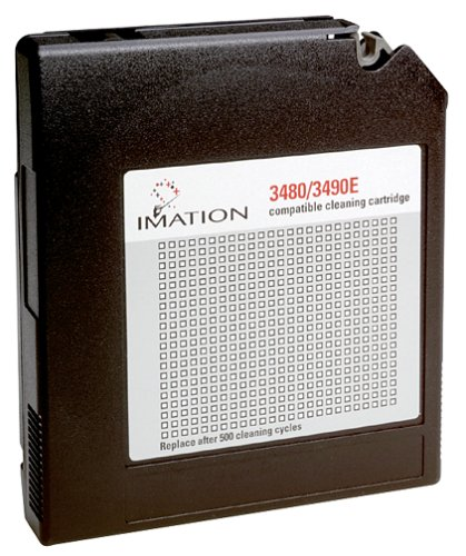 Imation 3480/3490E Cleaning Cartridge (Discontinued by Manufacturer)