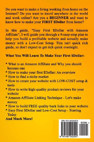 Easy-First-Dollar-With-Amazon-Affiliate-Step-By-Step-Guide-and-Low-Cost-Setup-for-Beginners-to-Make-Money-with-Amazon-Affiliate-Online-Business-Series