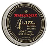 Winchester Pointed .177 Caliber Pellets