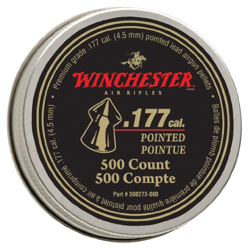 Rifle Winchester Pellet (Winchester Pointed .177 Caliber Pellets)