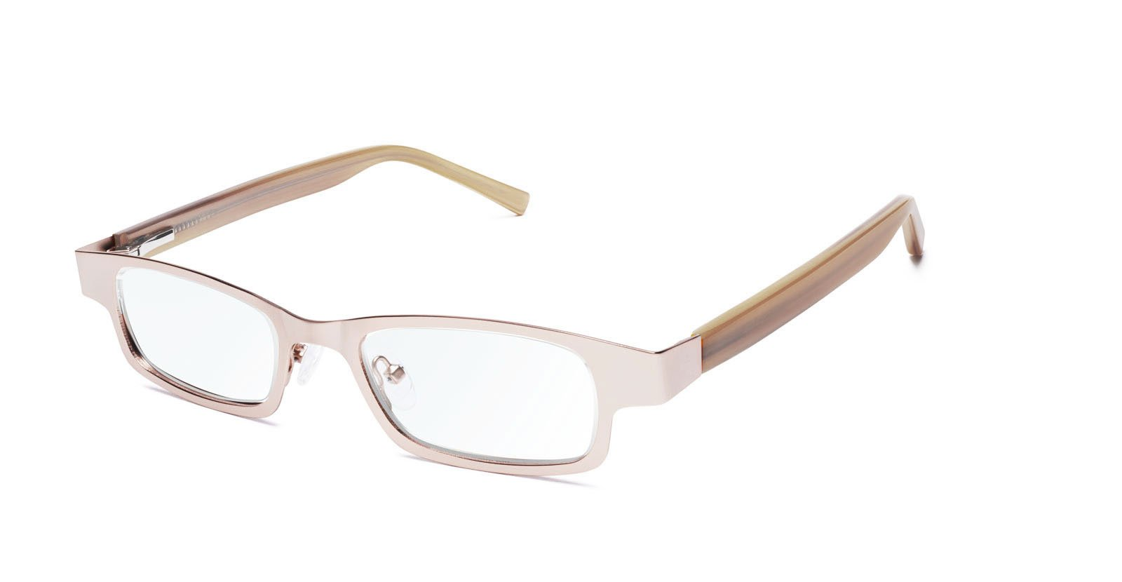 Eyejusters Self-Adjustable Glasses, Combination, Gold & Horn