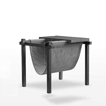 Estanterías y almacenaje La pequeña mesa de café, periódico del ...