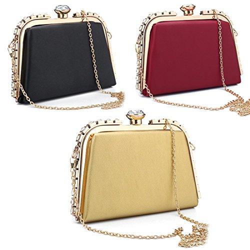 Evening red Pochette SSMK Bag pour femme PC4qHwq