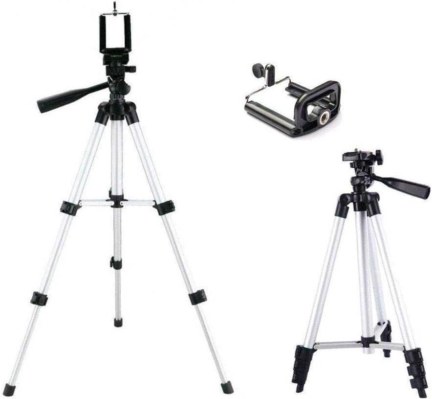 Star 3110 Lightweight Tripod with Adjustable-height legs Free Phone Holder with Bag