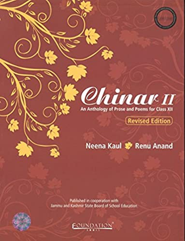 12 chinar guide array chinar ii an anthology of prose and poems for class xii j and k fandeluxe Choice Image