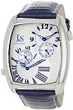 Joshua & Sons Men's JS712BU Quartz Dual-Time Dress Watch