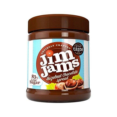 JimJams 83% Less Sugar Hazelnut Chocolate Spread - Sugar Jim