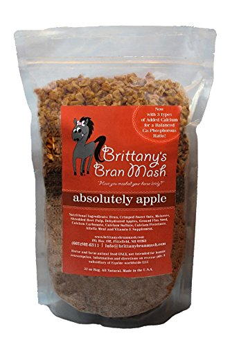 Brittany's Bran Mash for Horses - Absolutely Apple