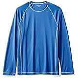 Amazon Essentials Men's Long-Sleeve Quick-Dry UPF 50 Swim Tee, Royal Blue, Medium