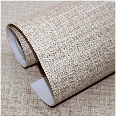 壁紙シール 簡単貼付シール 麻布調 賃貸OK 防水 防潮 45cm×5m 貼りやすい