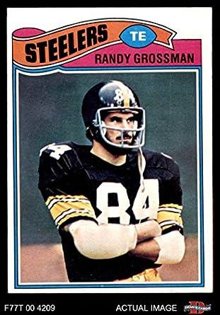7bde4d811ba 1977 Topps # 159 Randy Grossman Pittsburgh Steelers (Football Card) Dean's  Cards 6 -