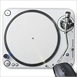 DJ Tocadiscos alfombrilla de ratón de goma alfombrilla de ...