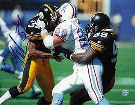 0730ffe4e9f Autographed Carnell Lake Photo - 8x10 - Autographed NFL Photos at ...