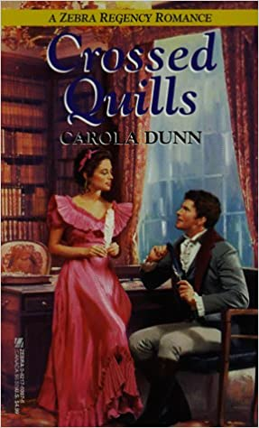 Download pdfs of books free Crossed Quills (Zebra Regency Romance) 0821760076 by Carola Dunn (Portuguese Edition) DJVU
