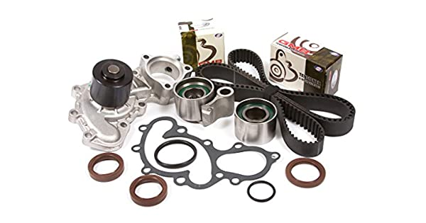 Evergreen TBK271WPT Fits Toyota 3.4 Pickup DOHC 5VZFE Timing Belt Kit Water Pump