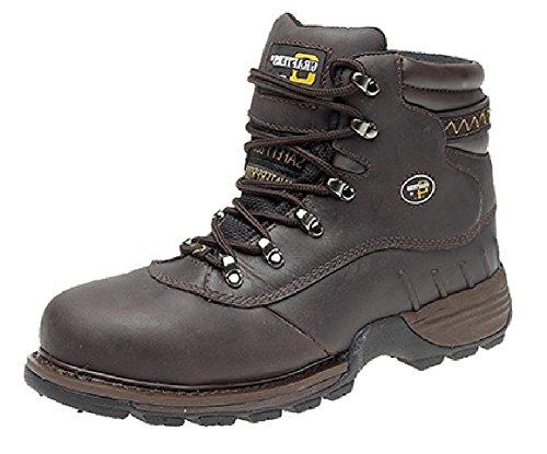 Grafters - Calzado de protección para hombre negro negro marrón - marrón