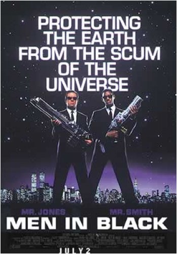 Men In Black - Movie Poster