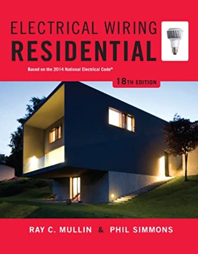 electrical wiring residential ray c mullin phil simmons ebook rh amazon com DIY Electrical Wiring Residential Residential Electrical Wiring Studs