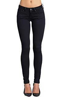 Mavi Alexa Mid-Rise Skinny Freida  Black Pants