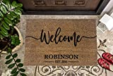 Wedding Gift | Housewarming Gift | Custom Doormat | Personalized Doormat | Closing Gift | Welcome Doormat | Front Door Mat | Farmhouse Decor
