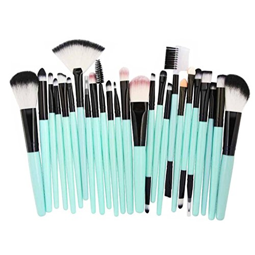 25 Pieces Makeup Brush Set, Staron Makeup Brushes Kit Cosmetics Foundation Premium Make Up Brushes Toiletry Kit Blending Blusher Eye Shadow Eyeliner Face Powder Makeup Brush Kit (A) (32 Makeup Beauty Piece Set)