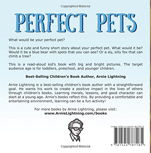 Perfect Pets: Short Story Picture Book for Children (Bedtime Stories