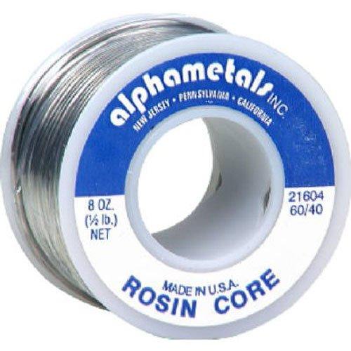 ALPHA METALS AM21604 8 oz Bulk Electric - Alpha Metals Solder
