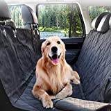 PETSGO Dog Seat Cover Car Seat Cover for Pets – 1-Minute Installation – Waterproof & Scratch Proof & Nonslip Backing – Durable Pet Seat Covers for Cars Trucks and SUVs – Black, Hammock Convertible For Sale
