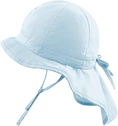 UV Protection Sun Hat Kids Neck Face Flap Cover Cap Baby Toddler Infant UPF 50