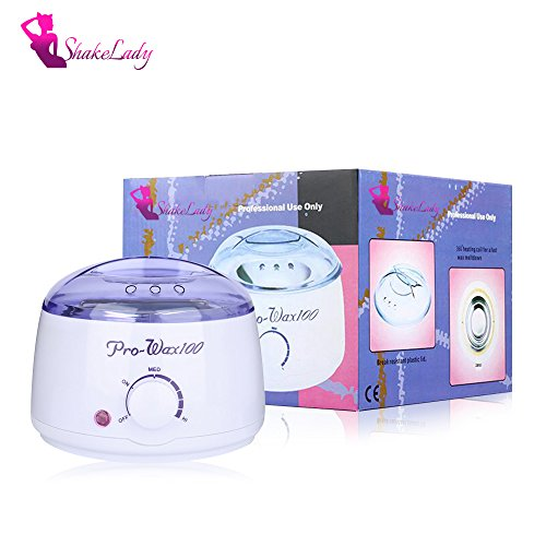 Price comparison product image ShakeLady 500ML Small Hair Removal Wax Warmer Electric Wax Pot Kit Wax Heater Machine Satin Smooth Paraffin Wax Spa for Hands Feet Face