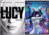 Scarlett Johansson Double Feature - Ghost in the Shell & Lucy 2-DVD Sci-Fi Bundle