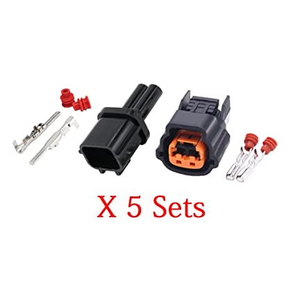 amazon com: 5 sets automotive header automotive wiring harness connector  plug with terminal dj70213y-2 3-11/21: automotive