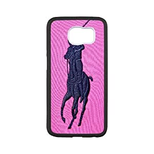 Custom Your Own Personalised Polo Ralph Lauren,TPU Phone case for SamSung Galaxy S6,white
