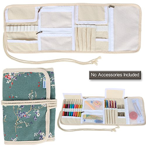 Teamoy Organizer Zippered Accessories Rolled up