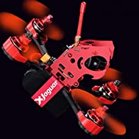 FLYPRO XJaguar 190MM SP Racing F3 Flight Controller with 600TVL Camera Racing Drone Frame Kit (Unassembled)