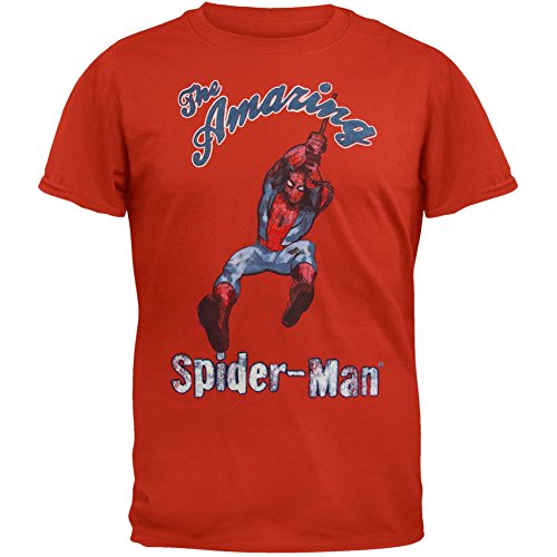 Spider-Man - Vintage Swinger Soft T-Shirt - Small