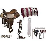 Tahoe Tack Easy Ride Pleasure Trail Western Saddle Set (6 Count)