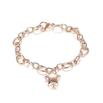 acdaab2f194 Lovely Little Star Cremation Urn Bangle Stainless Steel Ashes Keepsake  Memorial Bracelet for Love Gift &