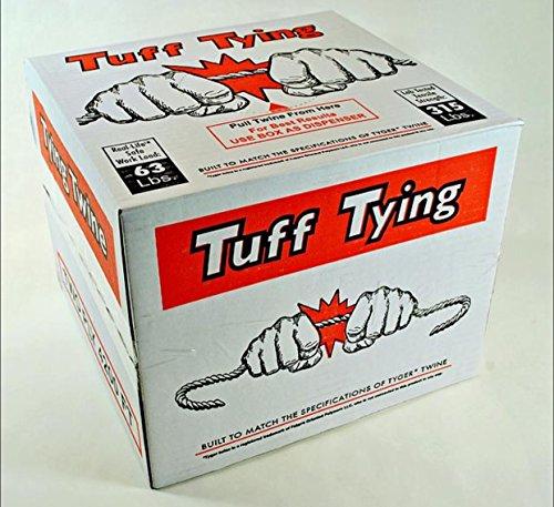 2 Ply Tyger Polypropylene Tying Twine, 315 Lb Tensile 4200 (Tying Twine)